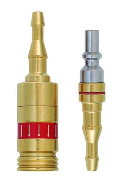 Bild von Schnellkupplung inkl. Stecknippel Acetylen/Propan (8612-A/P)