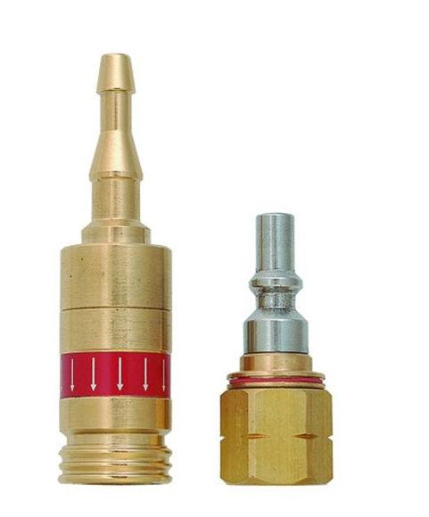 Bild von Schnellkupplung inkl. Stecknippel Acetylen/Propan (8611-A/P)