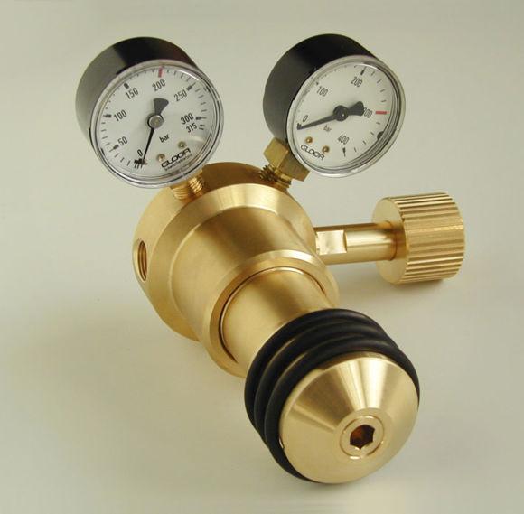 Bild von Druckreduzierventil Wasserstoff / Erdgas / Formiergas 200 bar (7902-1-H-03)