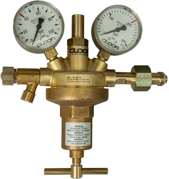 Picture of HP Regulator carbon dioxide/argon 20 bar